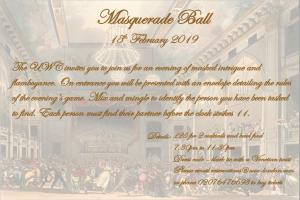 Masquerade Ball UWC 2019