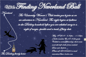 U35s Finding Neverland Ball